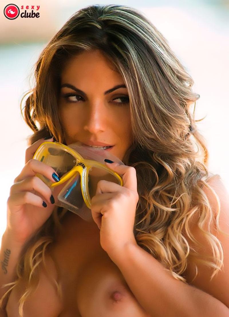 Anamara Pelada Sexy fotos da ex bbb anamara nua na revista sexy clube - espaço